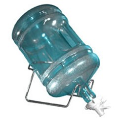 water bottle with cradle